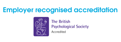 Employer recognised accreditation BPS logo
