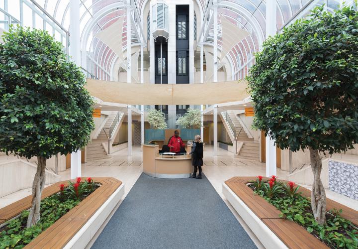 Arden University London Ealing study centre interior