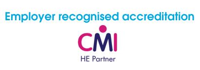 Employer recognised CMI logo