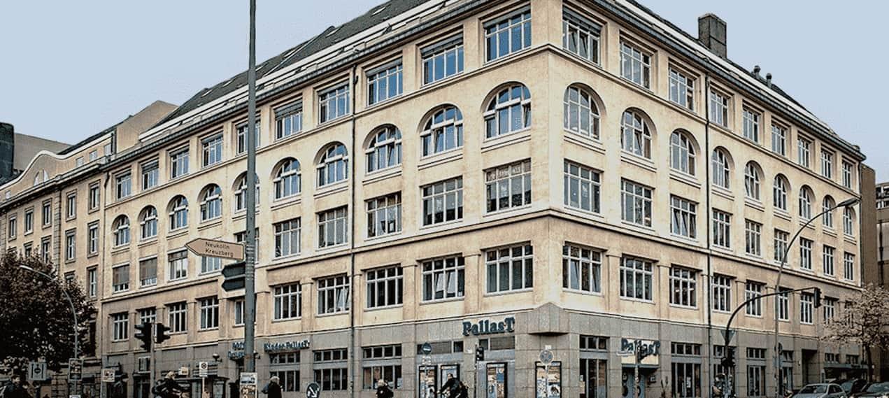 Arden University Berlin study centre exterior