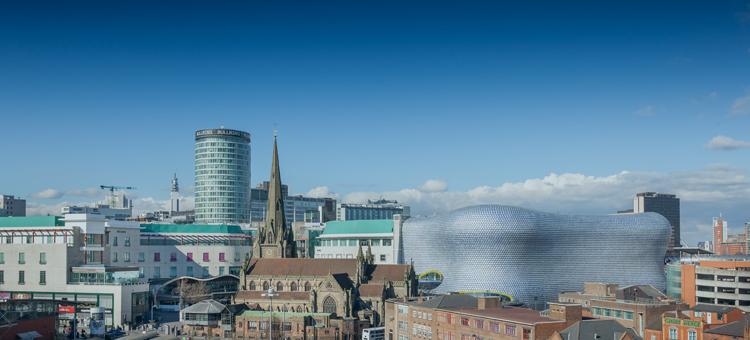 Birmingham City Centre Arden University study centre
