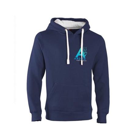 Arden University navy hoodie