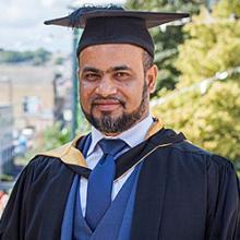 Bradford MBA online graduate Muzibul Islam